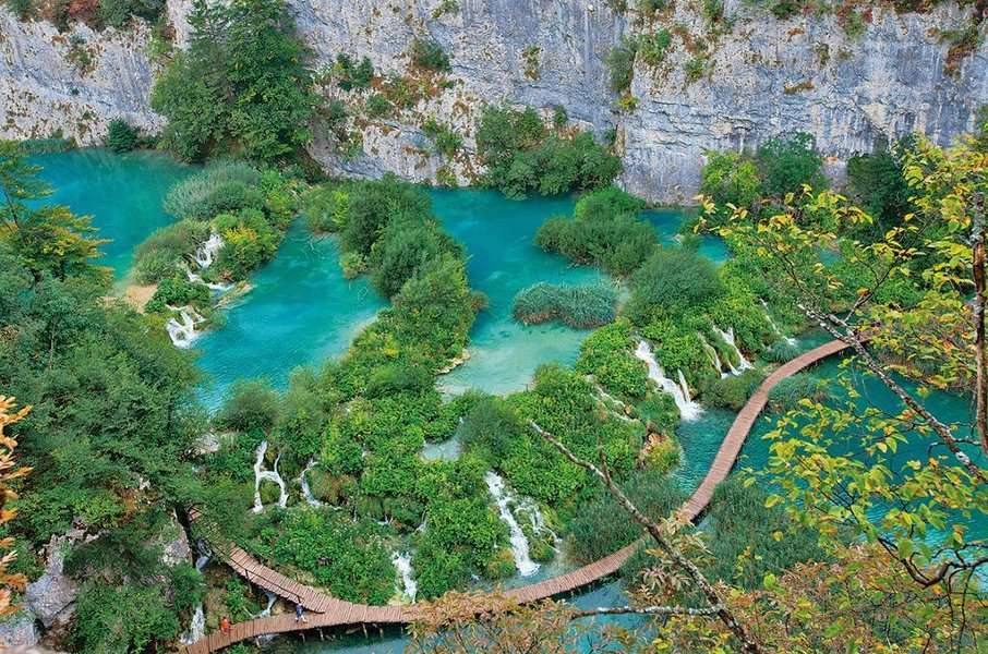 National park Plitvice Lakes tour